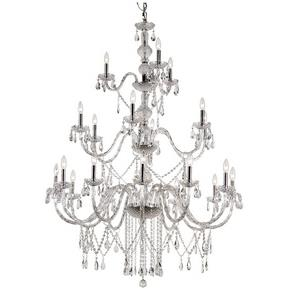 HU - Twenty-One Light 3-Tier Chandelier