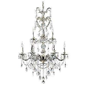 Fountain - Nine Light 2-Tier Chandelier