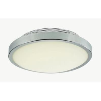 "Trans Globe Lighting LED-30009 PC 11"" 15W 1-Light LED Flushmount"