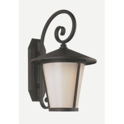 "Trans Globe Lighting LED-40351 12"" 8W 1-Light LED Outdoor Wall Sconce"