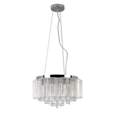 Trans Globe Lighting MDN-1139 Veiled Modern - Eight Light Pendant