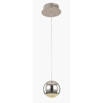"Trans Globe Lighting MDN-1210-1 6"" 6W 1 Light LED Drop Pendant"
