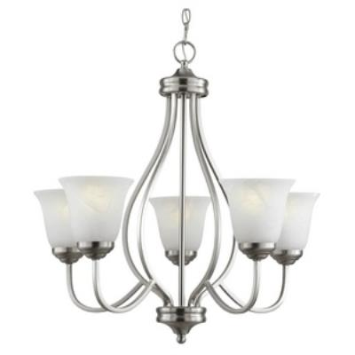 Trans Globe Lighting PL-10005 Five Light Chandelier