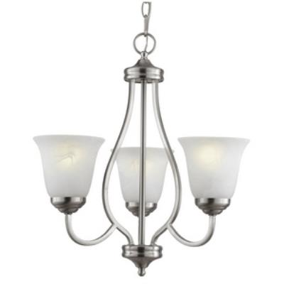 Trans Globe Lighting PL-10007 Three Light Chandelier