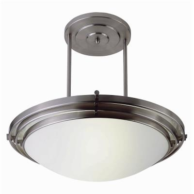 Trans Globe Lighting PL-2481 WH Two Light Large Semi-Flush Mount