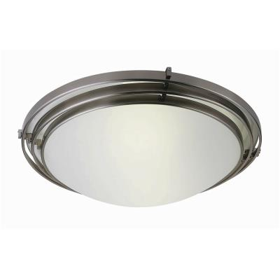 Trans Globe Lighting PL-2484 BN Two Light Large Flush Mount