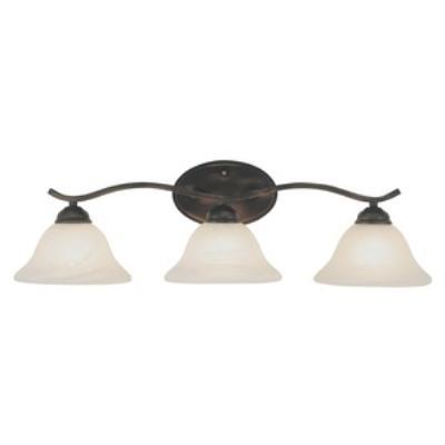 Trans Globe Lighting PL-2827 Pine - Three Light Arch Bath Bar