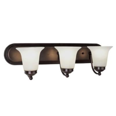 Trans Globe Lighting PL-3503 Morgan House - Three Light Bath Vanity