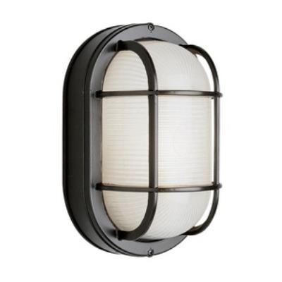 Trans Globe Lighting PL-41015 One Light Oval Bulkhead