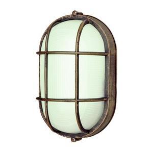 One Light Oval Bulkhead
