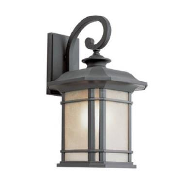 Trans Globe Lighting PL-5821 Corner Window - One Light Outdoor Wall Lantern
