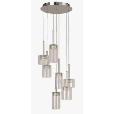 """Trans Globe Lighting PND-996 16"""" 21W 7-Light LED Pendant"""