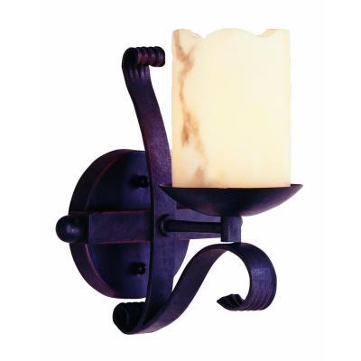 Trans Globe Lighting W-501 BK San Antonio - One Light Wall Sconce