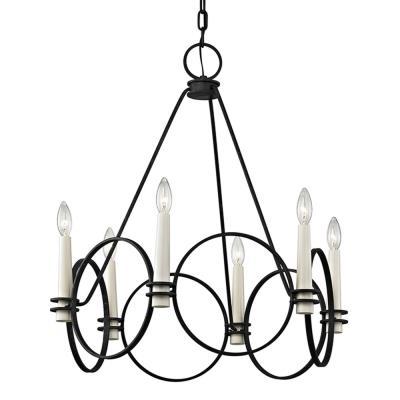 Troy lighting f5956 juliette six light chandelier mozeypictures Gallery