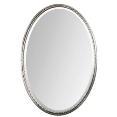"""Uttermost 01115 Casalina - 32"""" Oval Mirror"""