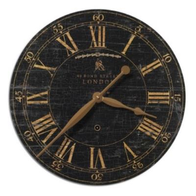 "Uttermost 06029 Bond Street - 18"" Round Clock"