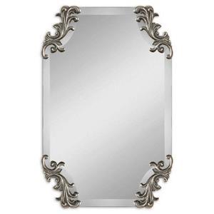 "Andretta - 29.25"" Baroque Vanity Mirror"