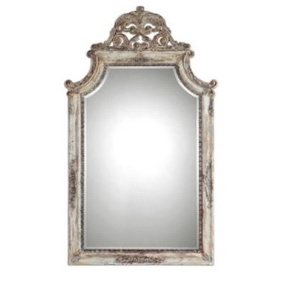 Uttermost 09516 Portici - Rectangular Mirror with Frame