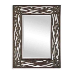 "Dorigrass - 42"" Modern Rectangular Mirror"