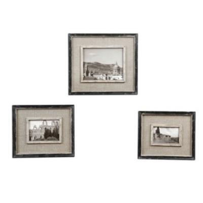 "Uttermost 18537 Kalidas - 16.38"" Cloth Lined Photo Frame (Set of 3)"