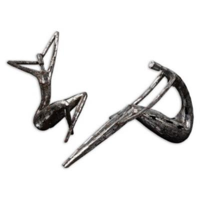 "Uttermost 19502 Dahy - 14"" Statue (Set of 2)"