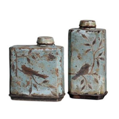 Uttermost 19547 Freya - Decorative Container (Set of Two)