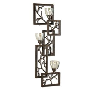 "Iron Branches - 42"" Wall Sconce"
