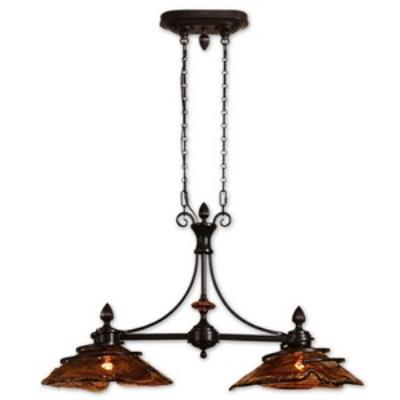 Uttermost 21225 Vitalia - Two Light Kitchen Island