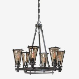 Frisco - Six Light Chandelier