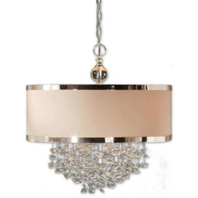 Uttermost 21908 Fascination - Three Light Drum Pendant