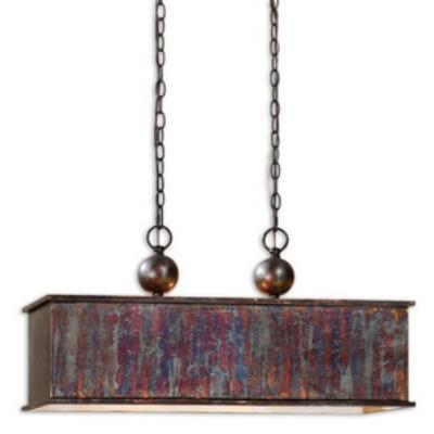 Uttermost 21922 Albiano Rectangle - Two Light Pendant