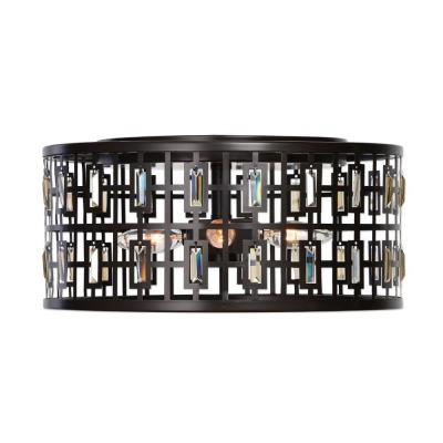 Uttermost 22279 Rhombus - Four Light Flush Mount