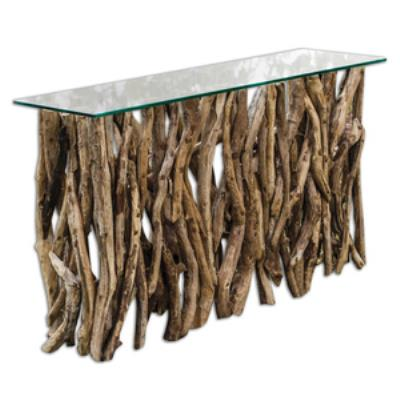 "Uttermost 25593 59"" Wood Console"