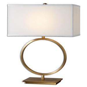 Duara - One Light Circular Table Lamp