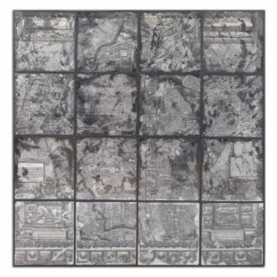 """Uttermost 55005 Antique Street Map - 48"""" Wall Art"""