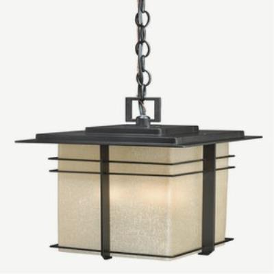 Vaxcel Lighting AB-ODU090NB Ashbee - Three Light Outdoor Pendant