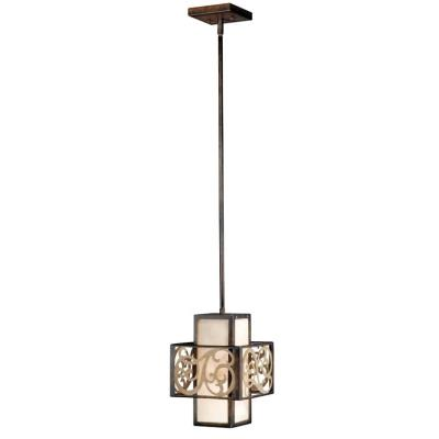 Vaxcel Lighting AT-PDD080AW Ascot - One Light Mini-Pendant