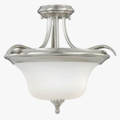 Vaxcel Lighting C0013 Sonora - Two Light Semi-Flush Mount