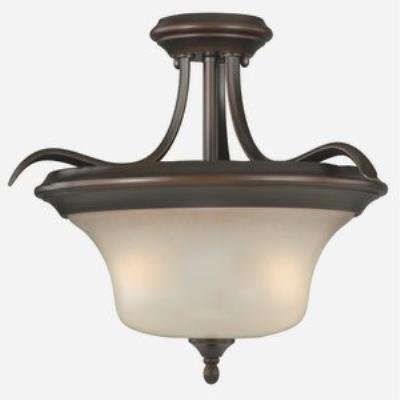 Vaxcel Lighting C0019 Sonora - Two Light Semi-Flush Mount