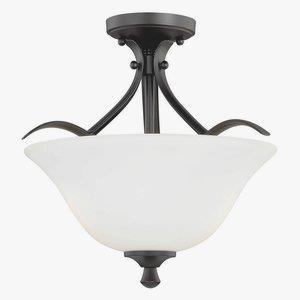 Cordoba - Two Light Semi-Flush Mount