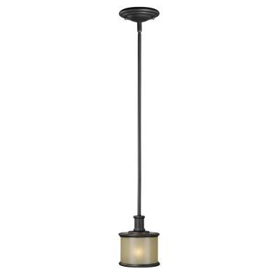 Vaxcel Lighting CR-PDD060NB Carlisle - One Light Mini-Pendant