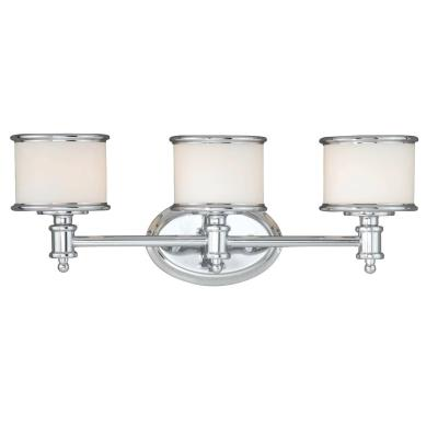Vaxcel Lighting CR-VLU003CH Carlisle - Three Light Bath Bar