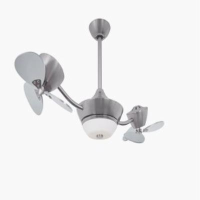 Vaxcel Lighting F0 D Eclipse Ii 42 Dual Head Ceiling Fan With Light
