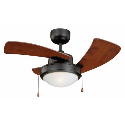 """Vaxcel Lighting F0040 Wolcott - 36"""" Ceiling Fan with Light Kit"""