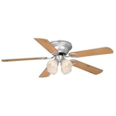 "Vaxcel Lighting FN52267BN-C Zephyr - 52"" Ceiling Fan"