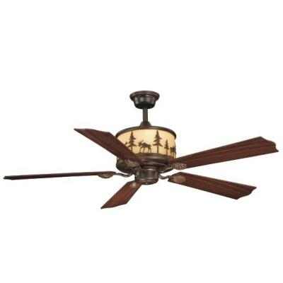 "Vaxcel Lighting FN56305BBZ Yellowstone - 56"" Ceiling Fan"