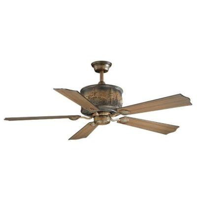 "Vaxcel Lighting FN56306AW Yellowstone - 56"" Ceiling Fan"