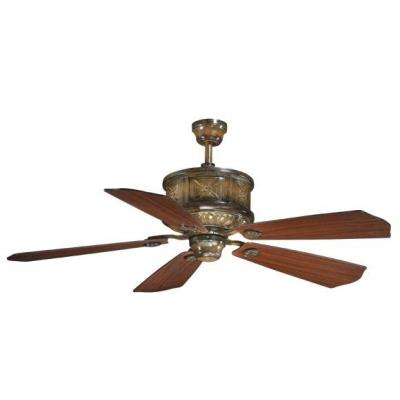 "Vaxcel Lighting FN56308AW Gibraltar - 56"" Ceiling Fan"
