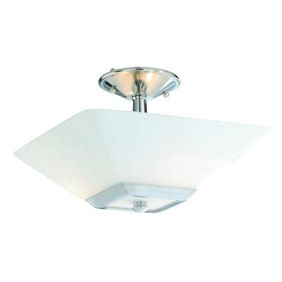 Vaxcel Lighting KD-CFU130CH Kendall - Two Light Semi-Flush Mount