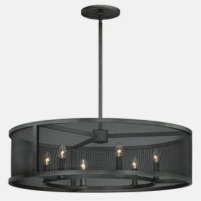 Vaxcel Lighting P0103 Wicker Park - Six Light Pendant